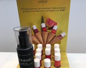 gratis flesje nagellak bij aankoop van je favoriete Oolaboo product